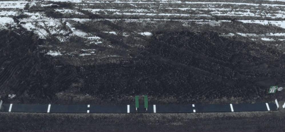 В Румынии бизнесмен построил шоссе длиной в метр