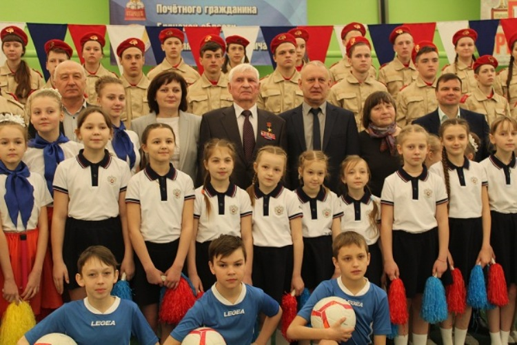 В Стародубе проходит турнир по волейболу на кубок Героя Соцтруда