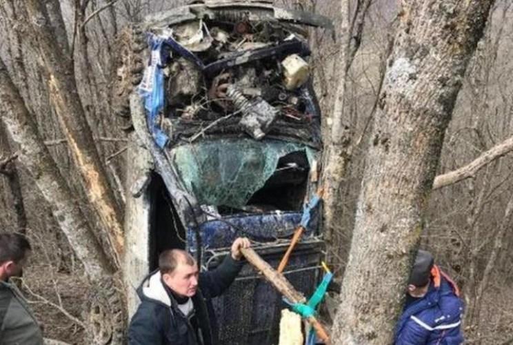 На трофи-рейде в Геленджике произошла трагедия: один из экипажей потерпел крушение