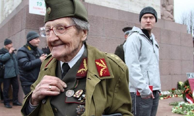 В центре Риги прошел марш легионеров СС