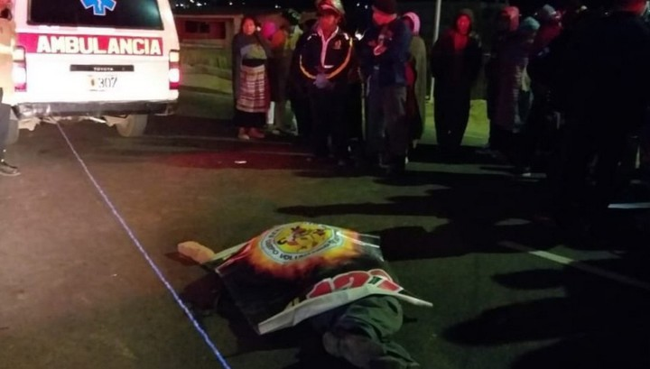 В Гватемале грузовик влетел в толпу людей
