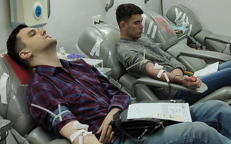 В Брянске 74 человека сдали кровь на лечение тяжелобольных людей
