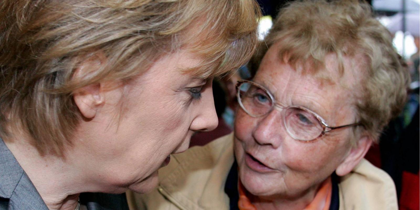 Скончалась мать канцлера Германии Ангелы Меркель