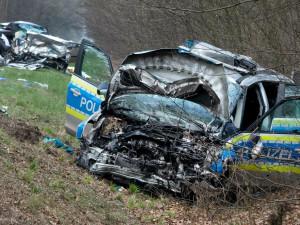 50 машин столкнулись в одном ДТП в Германии