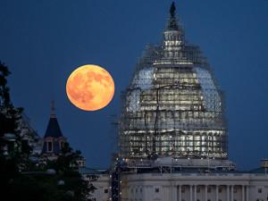 США заявили об исключительных правах на Луну