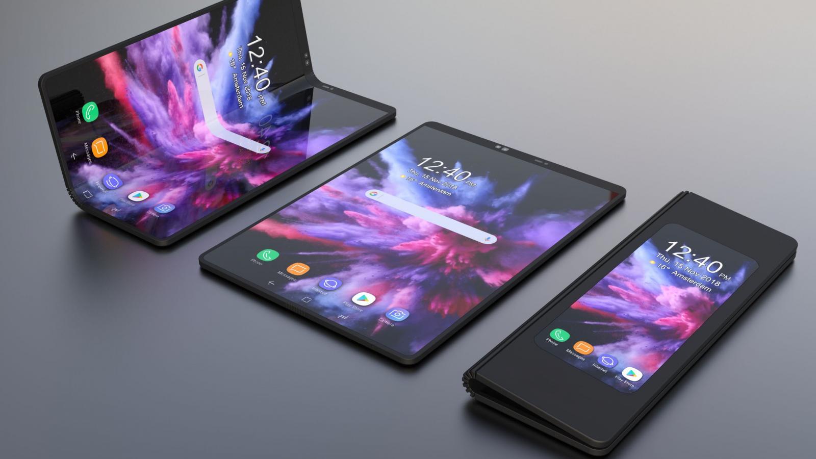 Складные смартфоны Samsung Galaxy Fold сломались в первые же дни