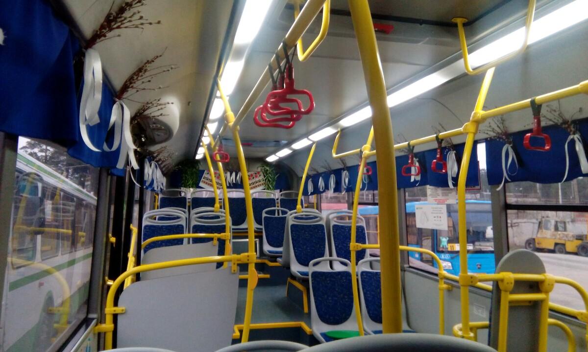 Брянские пассажиры восхитились салоном автобуса №31
