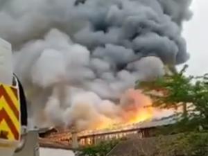 Видео нового пожара в Париже появилось в Сети - теперь горит в Версале