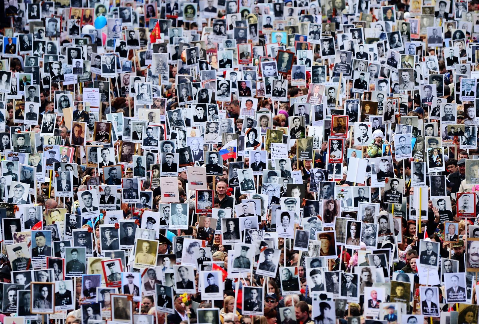 «Бессмертный полк» пройдет в 110 странах мира