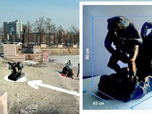 4 миллиона рублей будут стоить цветы и скульптура  в виде лягушек с саксофоном на набережной реки Миасс