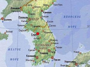 В новостях Корейский полуостров назвали Копейским