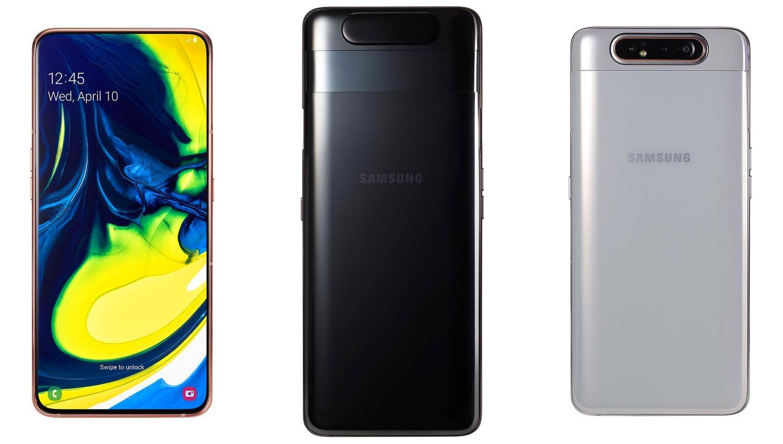 Samsung представил новый слайдер Galaxy A80