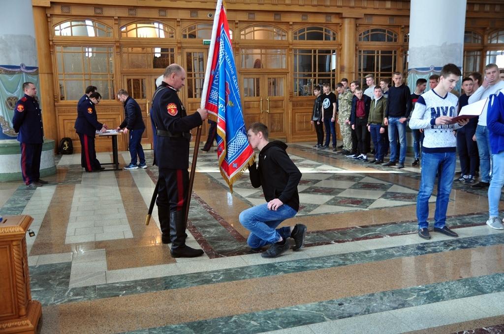 В Брянском Кафедральном Соборе присягу приняли 30 казаков