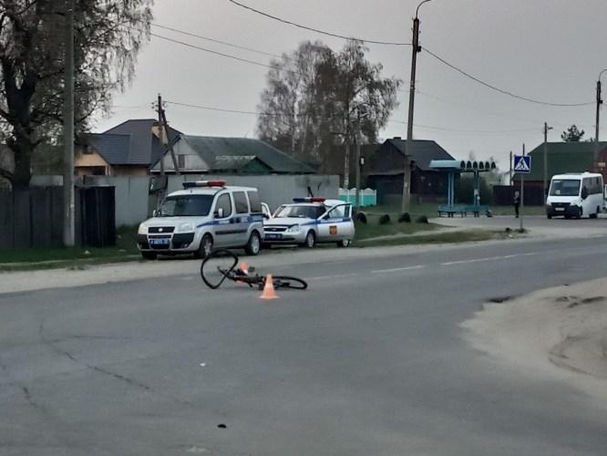 В Брянске под колеса автомобиля попал ребенок на велосипеде