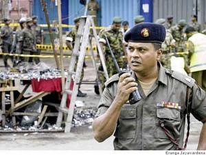 Видео с места взрывов в Шри-Ланке дает оценить масштабы трагедии