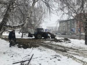 Нелегальную автостоянку в Челябинске сравняли с землей
