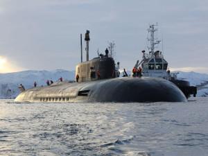 За спуском на воду первого «Морского монстра» Владимир Путин наблюдал в режиме телемоста