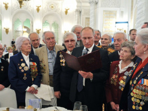Путин подписал указ о ежегодных выплатах ветеранам Великой Отечественной войны