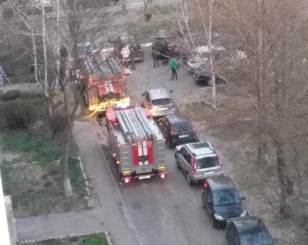 В Брянске в горящей квартире на Медведева пострадал человек