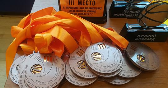 БК «Брянск» взял бронзу на первенстве округа