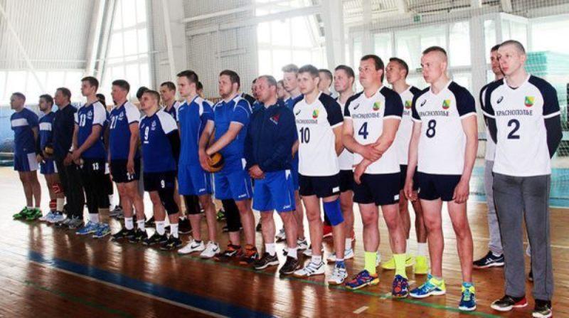 В Красной горе стартовал международный турнир по волейболу