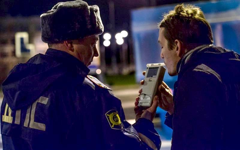 В Брянске за неделю остановили более 20 пьяных водителей