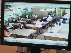 На ЕГЭ появилась новая система видеонаблюдения