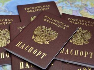 С ажиотажем на российские паспорта не справляются на Донбассе?
