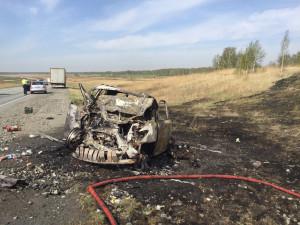 Смерть накануне Дня Победы. Четыре человека погибли в страшном ДТП под Челябинском 8 мая