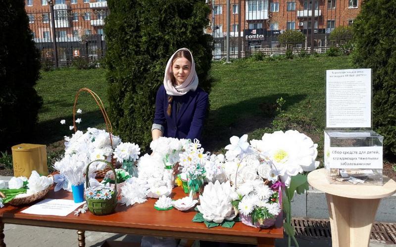 В Брянске православные собирали деньги на лечение детей