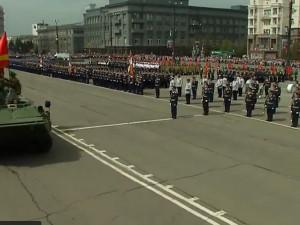 Парад Победы в Челябинске. Начало