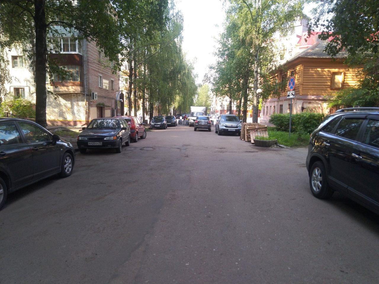 ВБрянске навсю будущую неделю закроют для движения часть улицы Октябрьской