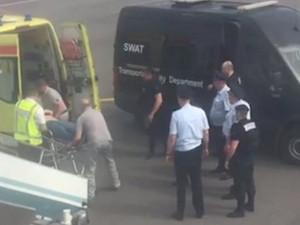 Снятый с аваирейса неадекватный пассажир скончался в «скорой»