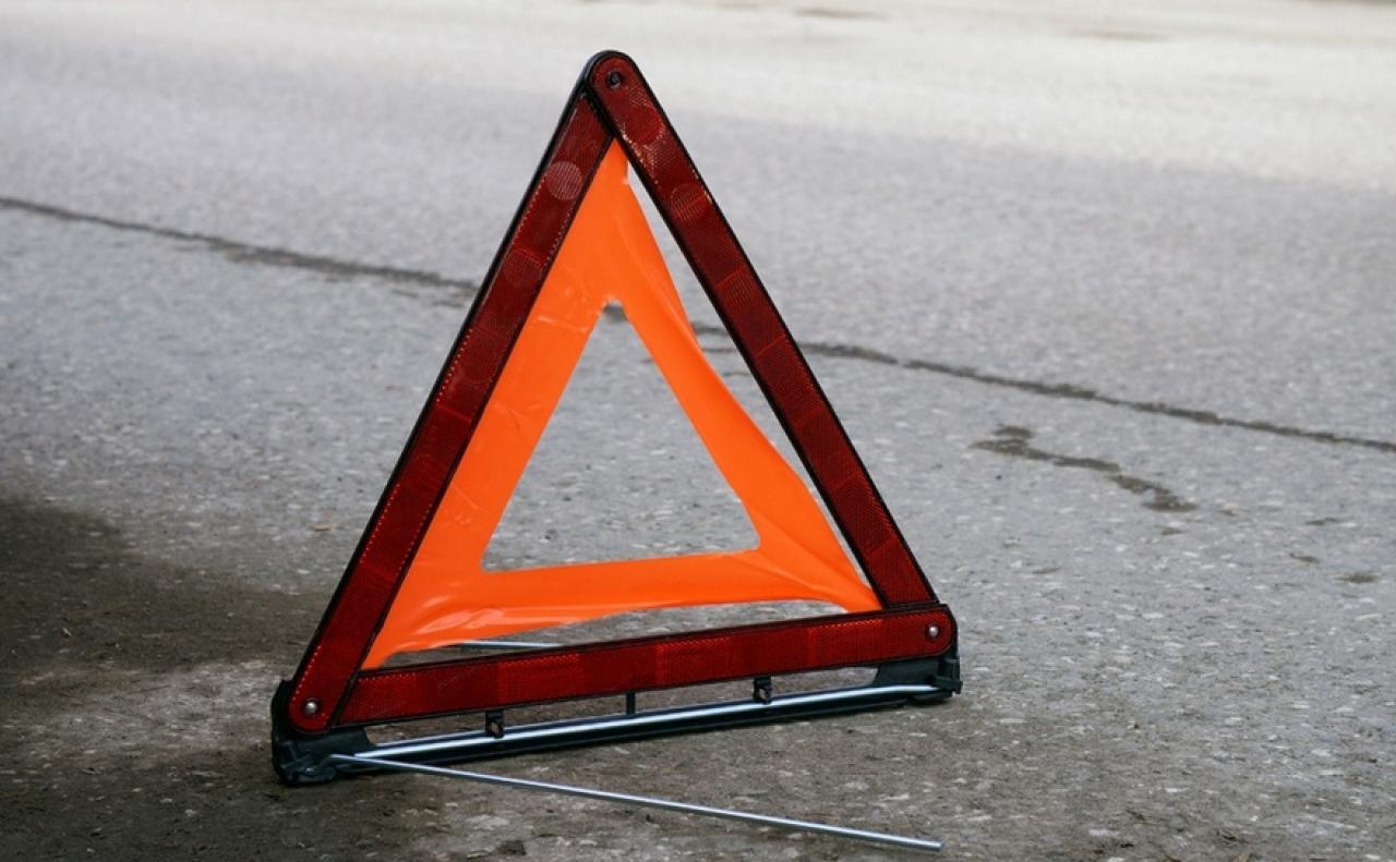 В Брянске на объездной дороге столкнулись две иномарки