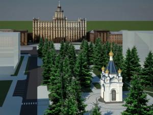 В Челябинске РПЦ тоже хочет строить храм на месте сквера. Горожане тоже против