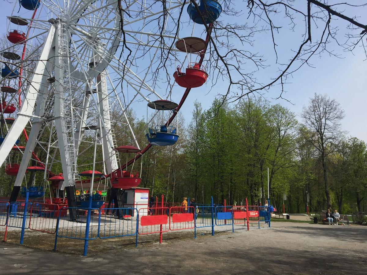 1 мая в Брянске стартовал летний парковый сезон