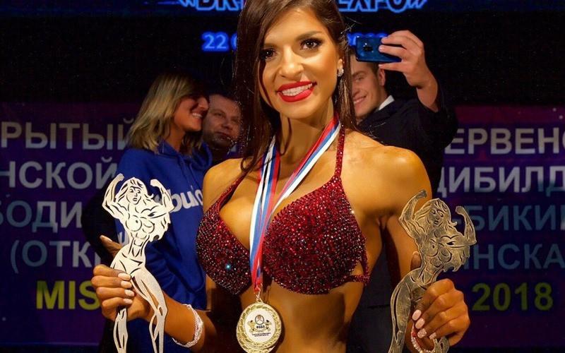 Брянская культуристка Минасян стала чемпионкой Европы по бодибилдингу