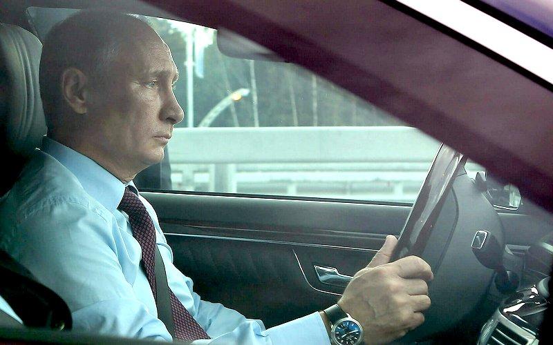 Автомобиль брянского Владимира Путина угнали в Москве