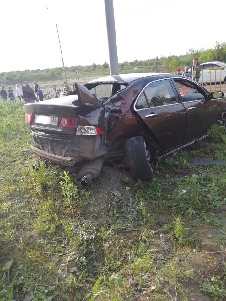 В жуткой аварии на Романа Брянского никто не пострадал
