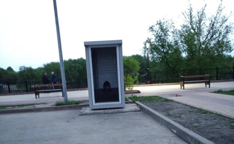 Туалет на Набережной вызвал бурю эмоций у брянцев
