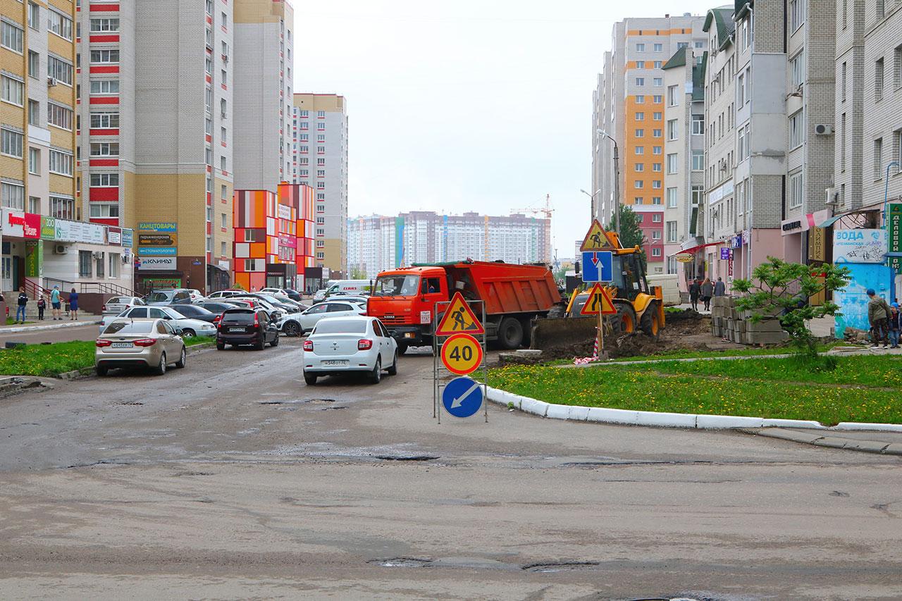 В Брянске приступили к ремонту трех улиц