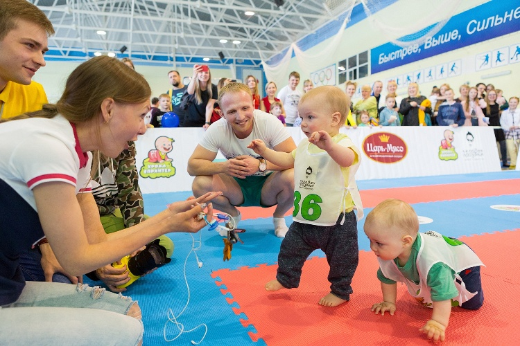 В Брянске 50 малышей приняли участие в веселых гонках «Кроха-спринтер»