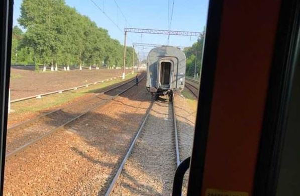 В Брянске поезд по дороге в Москву потерял вагон