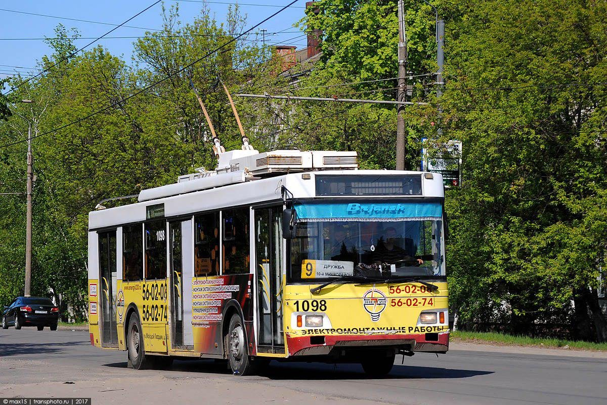 33 миллиона рублей должны спасти брянское троллейбусное управление