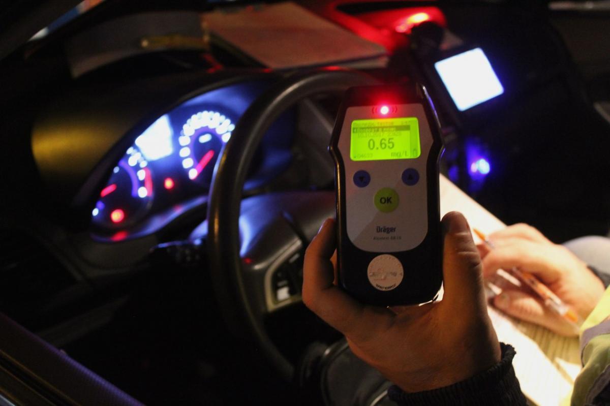 Вночь спятницы насубботу брянских водителей проверят натрезвость