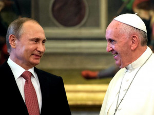 Папа Римский и Владимир Путин встретятся в Ватикане 4 июля