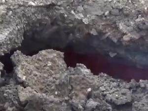 На берегах озера Курочкино продолжаются эндогенные пожары