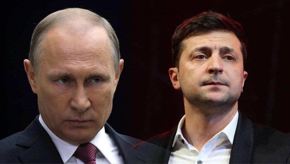 Путин назвал Зеленского талантливым