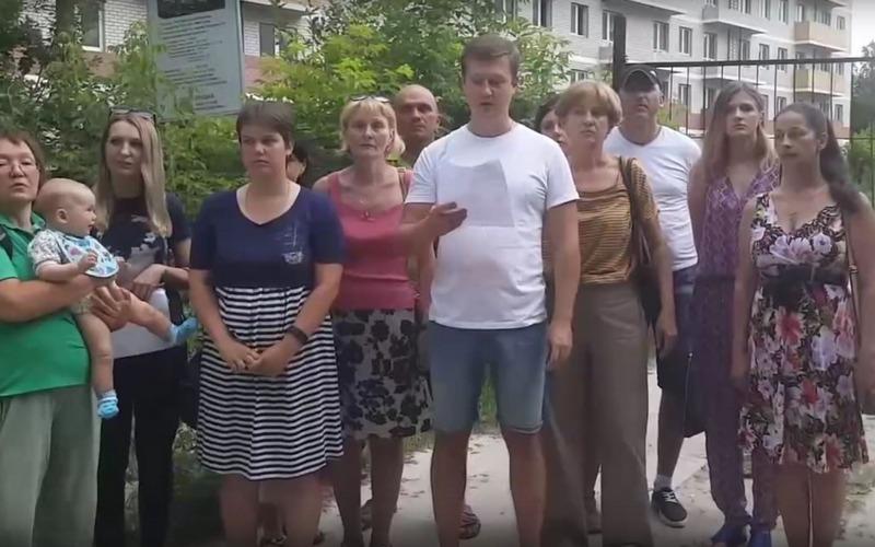 Обманутые дольщики из Брянска записали обращение к президенту