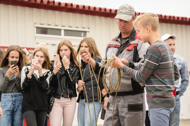 Мираторг рассказал о современном сельском хозяйстве более 200 школьникам Брянской области с начала года